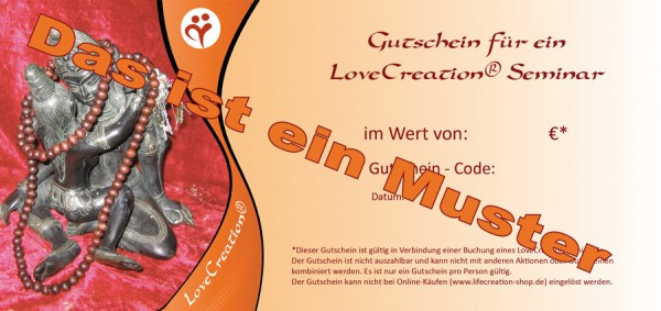 Seminar Gutschein - gedruckt